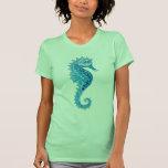 Aqua Seahorse T Shirt