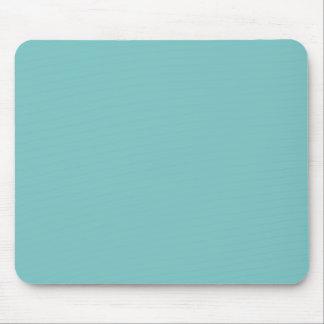 Aqua Sky Background. Chic Fashion Color Trend Mouse Pad