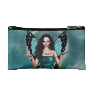 Aqua Sky Cosmetic Bag