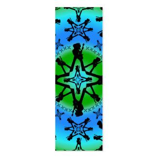 Aqua Solstice - Skinny Card