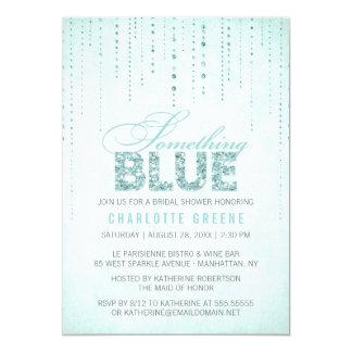 Aqua Something Blue Bridal Shower Invitation