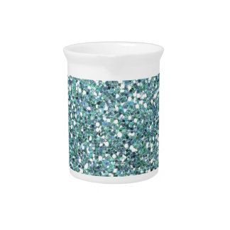 Aqua sparkles drink pitchers