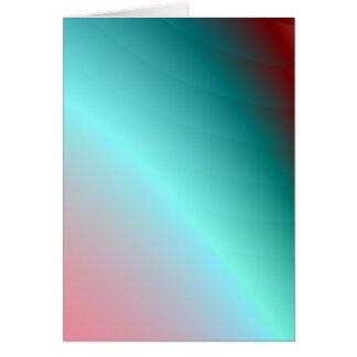 aqua spectrum art card