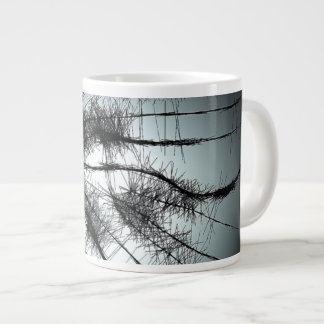 aqua spider 20 oz large ceramic coffee mug