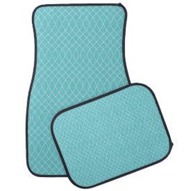 Aqua Spiral Floor Mat