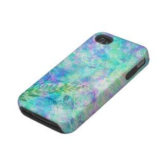Aqua Spring iPhone 4 Cases