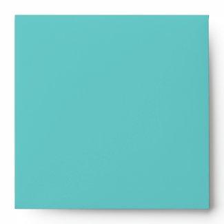 Aqua Square Envelope envelope