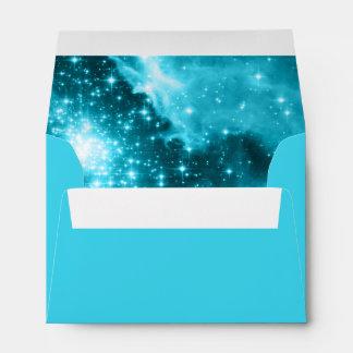Aqua Stars Envelope