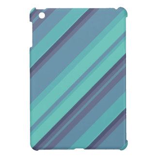 Aqua Stripes iPad Mini iPad Mini Case