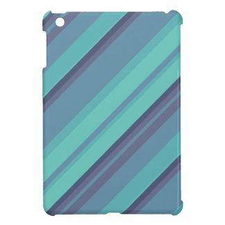 Aqua Stripes iPad Mini iPad Mini Cases