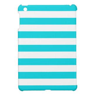 Aqua Stripes Pattern Case For The iPad Mini