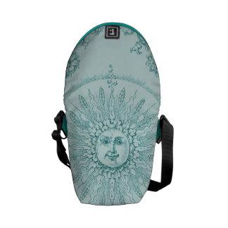 Aqua Sunshine Smiles Commuter Bags