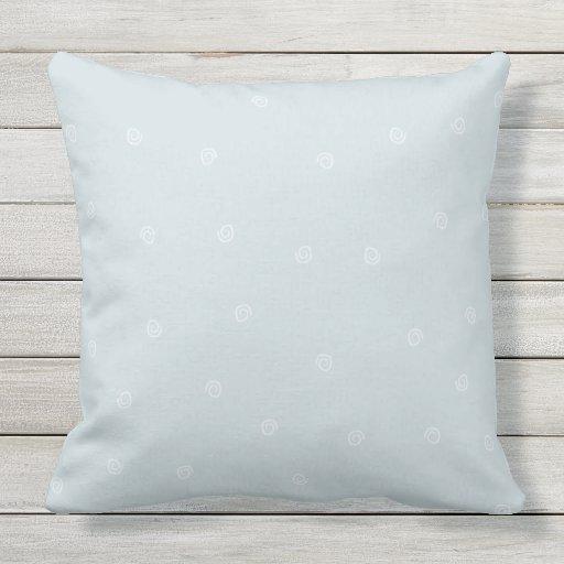 Throw Pillows 20 X 20 : Aqua Swirls Throw Pillow 20x20 Zazzle