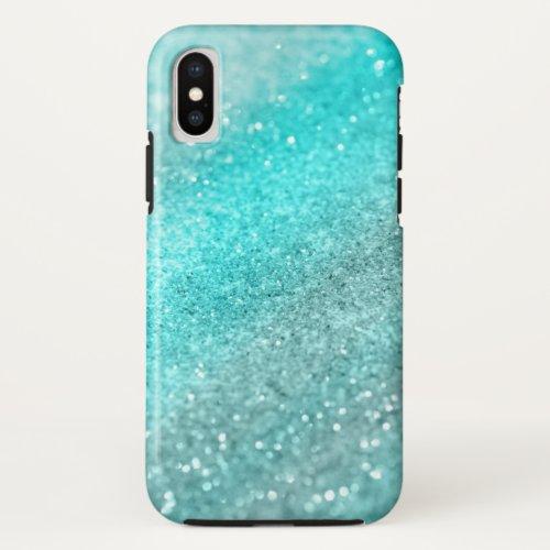 Aqua Teal Ocean Glitter #1 Phone Case