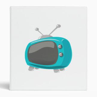 Aqua Television Binder
