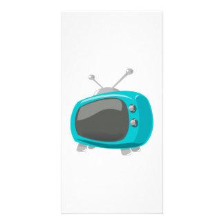Aqua Television Photo Card