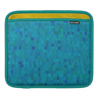 Aqua tiles modern pattern sleeve for iPads