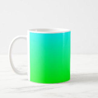 Aqua to Green Mug