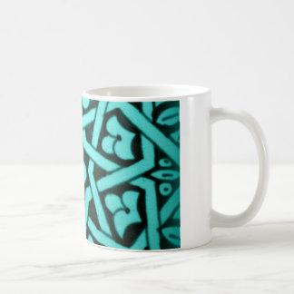 Aqua Tunisian Mug