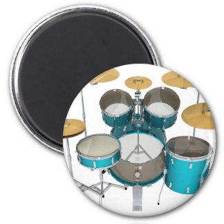 Aqua / Turquoise Drum Kit: Magnet