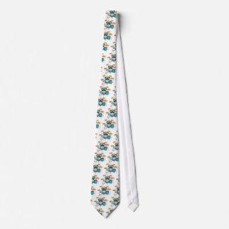 Aqua / Turquoise Drum Kit: Neck Tie