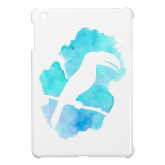 Aqua Watercolor Toucan Case For The iPad Mini