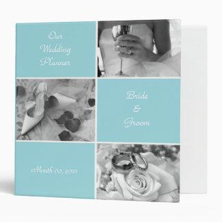 Aqua Wedding Planning Binder