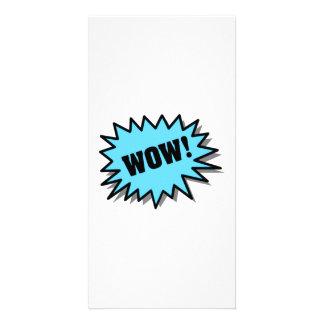 Aqua Wow Picture Card