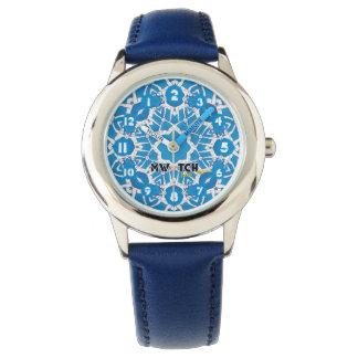 Aqua Wristwatch