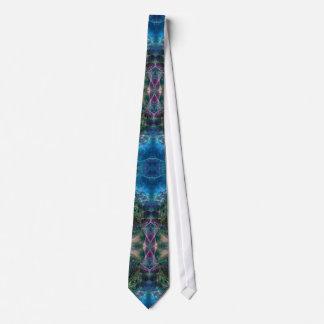 Aquadelia Fantasy Fractal Art Fashion Tie