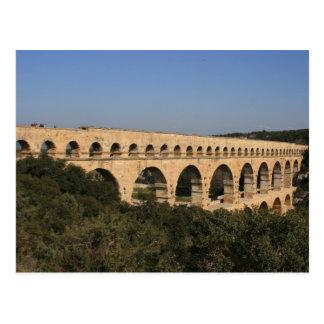 Aquaduct romano tarjeta postal