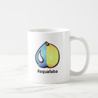 aquafaba hashtag classic white coffee mug