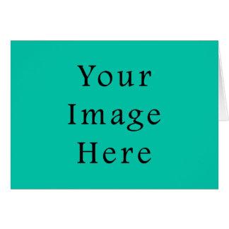 Aquafresh Green Aqua Fresh Color Trend Template Greeting Card