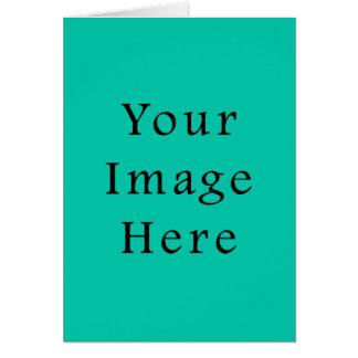 Aquafresh Green Aqua Fresh Color Trend Template Card
