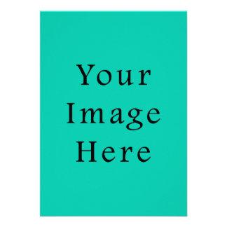 Aquafresh Green Aqua Fresh Color Trend Template Personalized Invitations