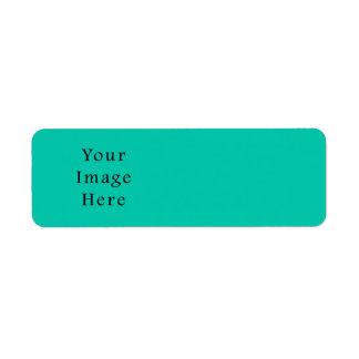Aquafresh Green Aqua Fresh Color Trend Template Custom Return Address Labels