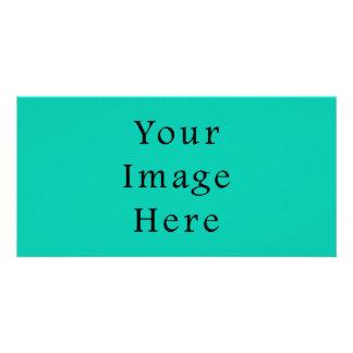 Aquafresh Green Aqua Fresh Color Trend Template Photo Greeting Card