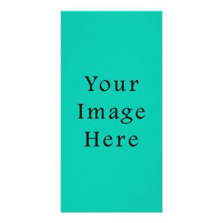 Aquafresh Green Aqua Fresh Color Trend Template Custom Photo Card