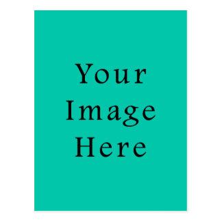 Aquafresh Green Aqua Fresh Color Trend Template Post Card