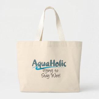 AquaHolic Jumbo Tote Bag