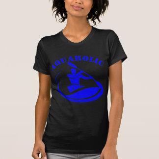 Aquaholic Kayak Guy T-shirt