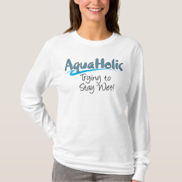 AquaHolic Ladies Long Sleeve T-Shirt