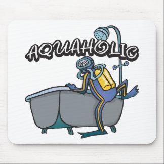 Aquaholic SCUBA Mouse Pad
