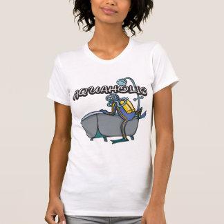 Aquaholic SCUBA T-Shirt
