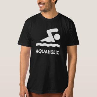 Aquaholic Swimmer T-Shirt