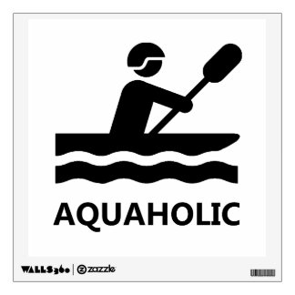 Aquaholic Wall Decal
