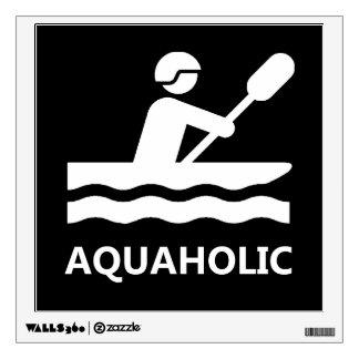 Aquaholic Wall Sticker