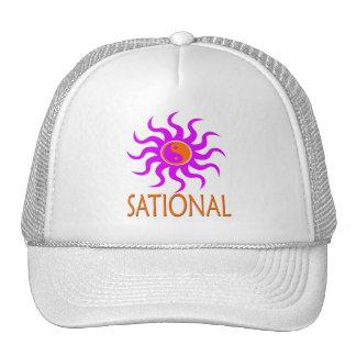 aqualights SUN SATIONAL YingYang Trucker Hat