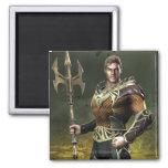 Aquaman 2 Inch Square Magnet