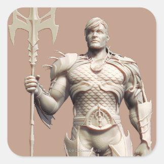 Aquaman Alternate Square Sticker